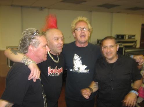 Pete, Wattie, Kimm, Alf