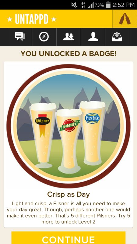 Congratulations!  You've unlocked the Alcohol Related Renal Failure Badge!